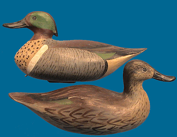 David Rhodes GW Teal pair