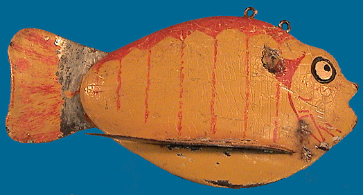 Punkinseed type fish decoy