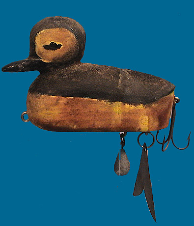 Duck folk art lure