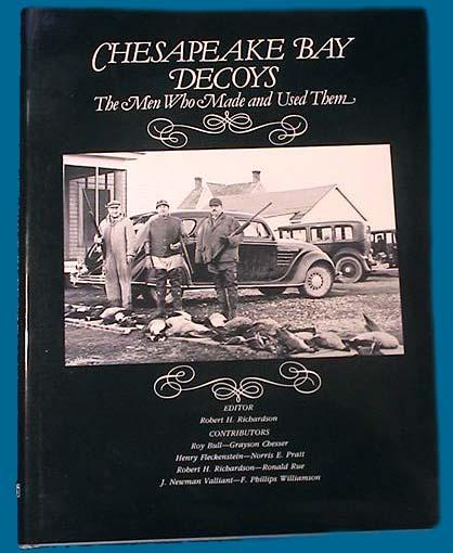 Chesapeake Bay decoy book