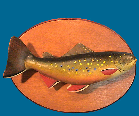 TC Brook Trout plaque