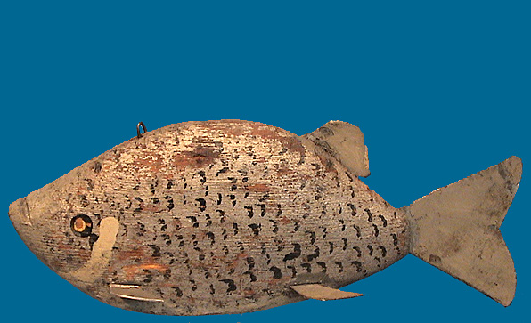 Unknown maker Crappie fish decoy