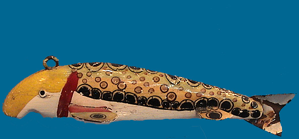Bud Stewart Folk Art fish