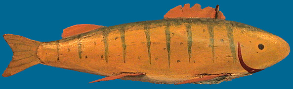 early Perch fish decoy