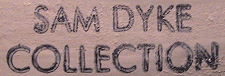 SAM DYKE COLLECTION STAMP
